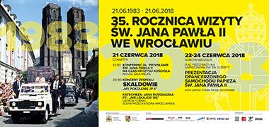 35. rocznica pierwszej wizyty papieża św. Jana Pawła II we Wrocławiu