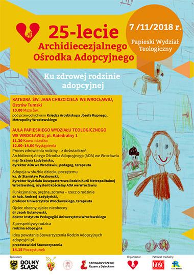 25-lecie Archidiecezjalnego Ośrodka Adopcyjnego