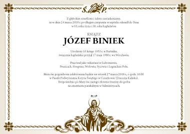 Pogrzeb Ks. Józefa Bińka