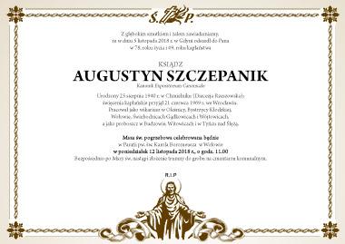 Pogrzeb Ks. Kanonika Augustyna Szczepanika